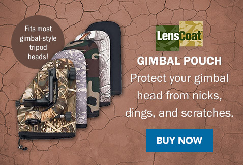 LensCoat Gimbal Pouch | Protect your gimbal head from nicks, dings, and scratches. Buy Now >
