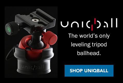 The world's only leveling tripod ballhead. Shop UniqBall >